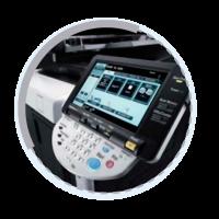 Pantalla Alquiler de fotocopiadoras